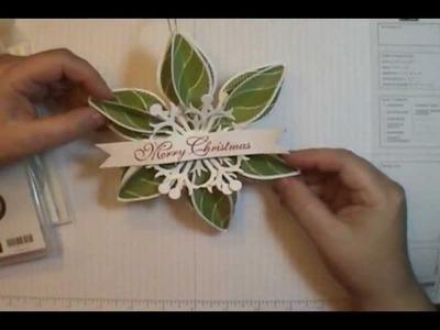 Stampin' Up! Ornament Keepsake Bundle Project