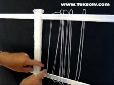 System Texsolv heddle set up
