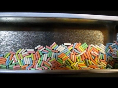 Tutorial: How to make nice Candy Sprinkles with Polymer Clay (easy)