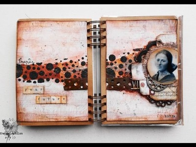 'Your future'.  art journaling