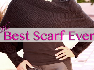 Amazing Scarf with Sleeves!