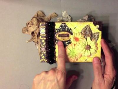 Authentique Blissful Paper Bag Mini Album