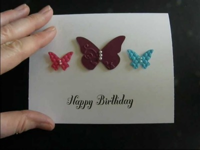 Beautiful Wings Birthday Card
