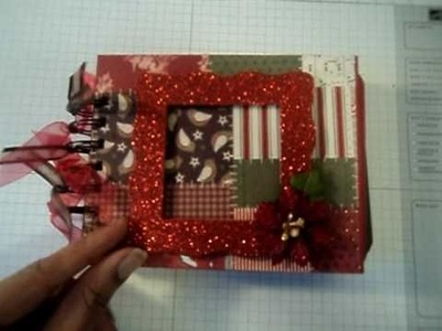Bind It All Mini Series: Christmas Paper Bag Mini Albums