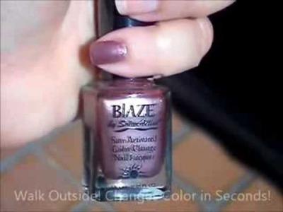 Blaze UV Color Change Nail Polish by SolarActive