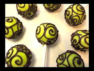Cake Pop Swirl Design by SparkedIdeas