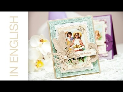 Card a Month: Loving Greetings (Using Spellbinders + Graphic 45 products)