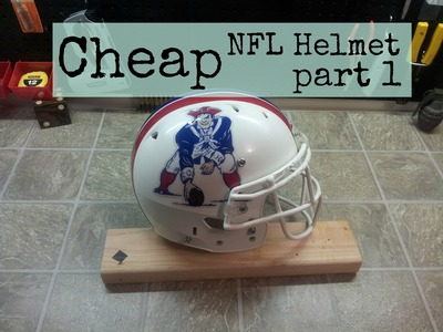Cheap NFL Helmet. Do it yourself 1 of 2