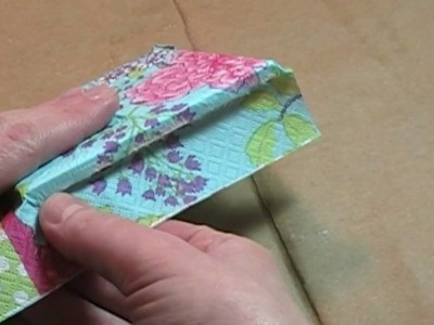 Curbly Video: Use a paper napkin to make a decorative .