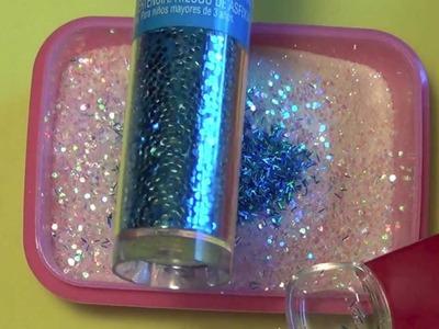 "Embossing Powder Glitter Mix  - ""Hail Storm"""