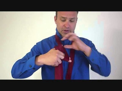 Fastest Way to Tie a Tie - Four in Hand Knot
