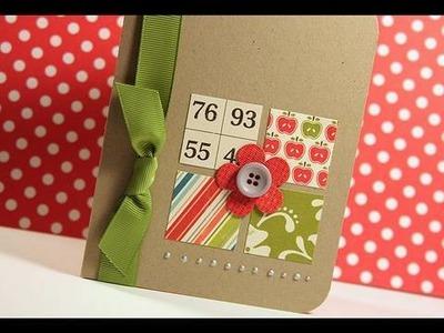 Flower - Make a Card Monday #81