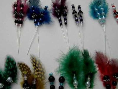Handmade Stick Pins (no longer selling)