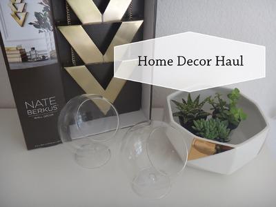 Home Decor Haul   Target - Marshalls - Home Depot