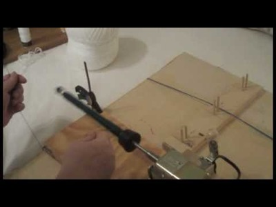 Homemade Electric Bobbin Winder