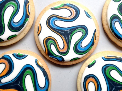 How To Decorate World Cup Cookies!