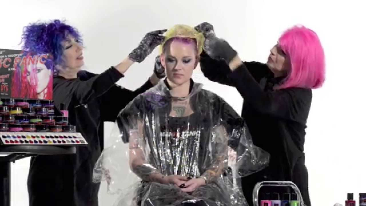 HOW TO DYE YOUR HAIR WITH MANIC PANIC®: OFFICIAL VIDEO