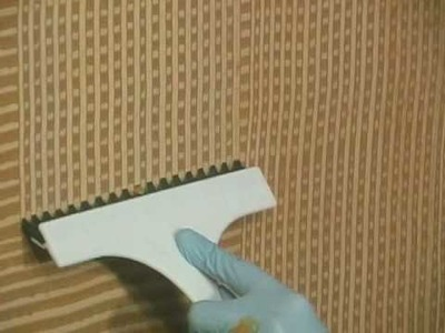 How-to faux paint a woven faux paint finish