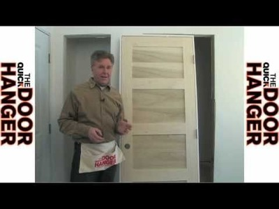 How to Hang & Install Interior Pre-hung Door