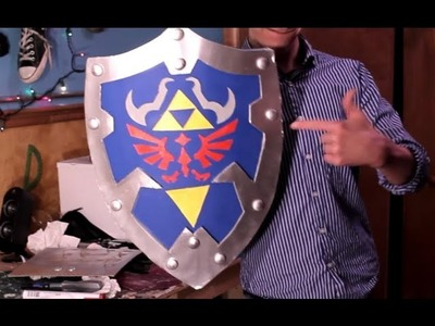 HOW TO: Link's Hylian Shield from ZELDA