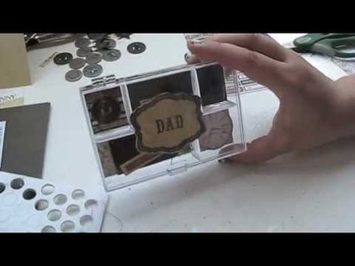 How to Make a Father's Day Mini Album