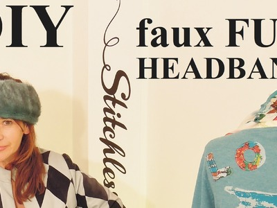 How to make a fur headband