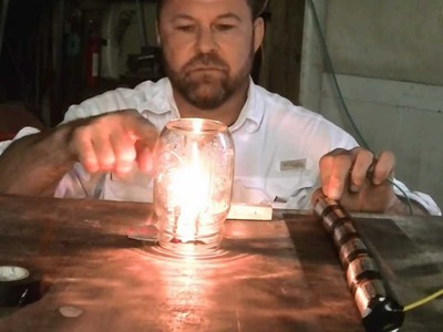 How to make a light bulb with pencil lead.Crazy easy science project