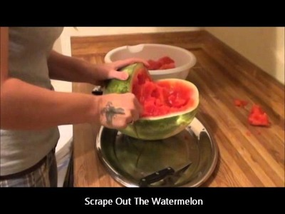 How To Make A Watermelon Baby Carriage By Willow Lyn