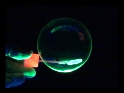 How To Make Colored Glowing Bubbles