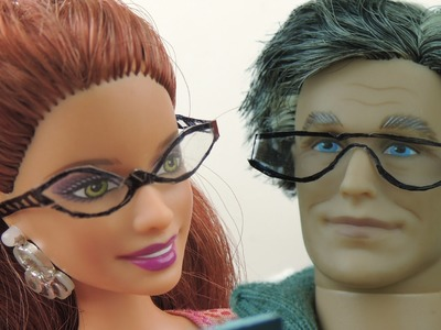 How to make Doll Glasses Tutorial - Really Easy!