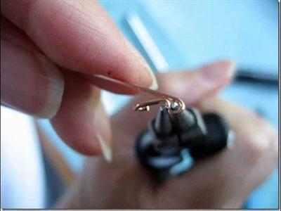 How To Make Kidney Ear Wires. Come Creare Monachelle Chiuse.