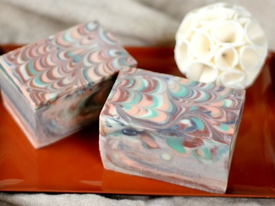 How to Make the Perfect Peacock Swirls in Soap