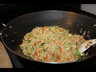 How To Make Vegetable Fried Rice.