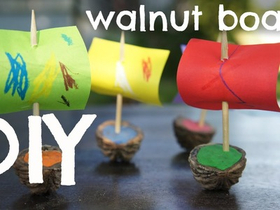 How to Make Walnut Shell Boats