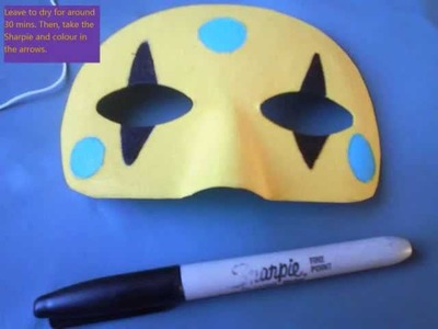How to make your own Party Poison Killjoy mask