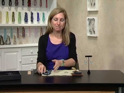 Jewel School: Susan Thomas Makes Tiered Earrings with Turquoise