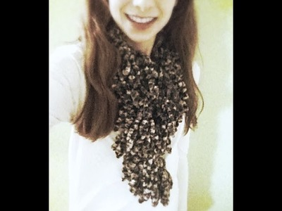 Knotted Scarf Tutorial