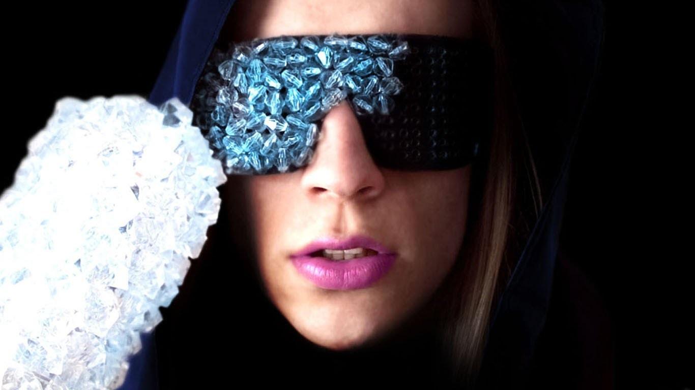 Lady Gaga The Fame Crystal Glasses – Sire Sasa tutorial 1