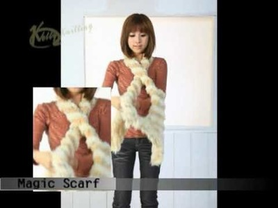 Magic scarf, style number 6
