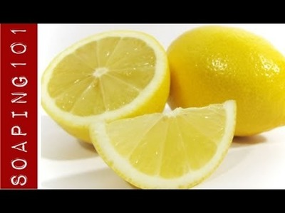 Making Cold Process Citrus Soap {from whole lemons}