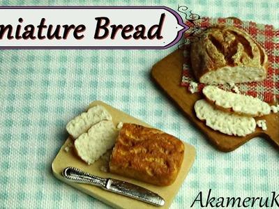 Miniature Bread - Polymer clay Dollhouse Miniature