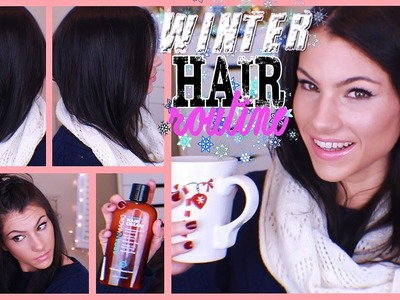 My Winter Hair Styling Routine 2014! Full Tutorial, Products I Use, & Cute Scarf Idea!
