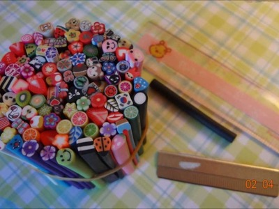 ♠ Polymer clay canes! ♠