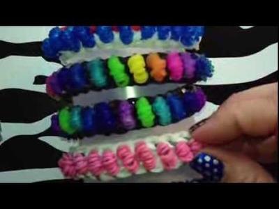 Popcorn Bracelet On Rainbow Loom