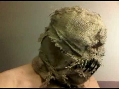 Scarecrow mask- (home-made)