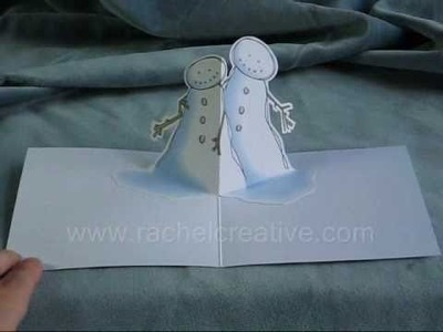 Snow Hug - Christmas Pop Up Card