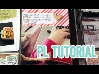 SP Episode 343: Project Life Tutorial Cheater Method of Making 4x6 Journaling Cards