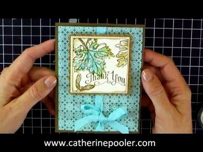 Stampin' Up Gently Falling Stamp Set #2 in the Series
