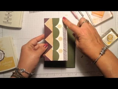 Stampin' Up! Video Tutorial What's Your Type Card Idea