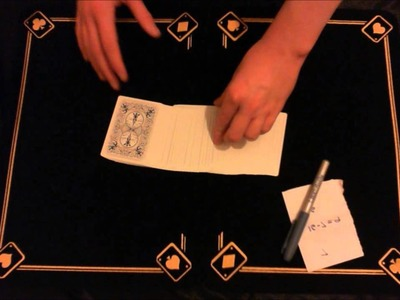 Three times the charm - card trick + tutorial